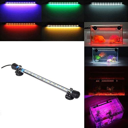 Etelux LED Aquarium Light Aquarium Iluminación para lámpara de agua salada y de agua dulce Lámparas