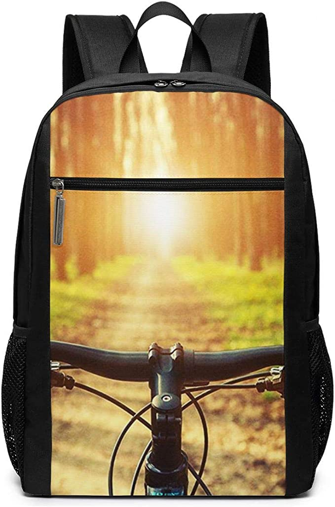 OMNVEQ Mochila Escolares Bicicleta de montaña 4, Mochila Tipo Casual para Niñas Niños Hombre Mujer Mochila para Ordenador Portátil Viaje: Amazon.es: Deportes y aire libre