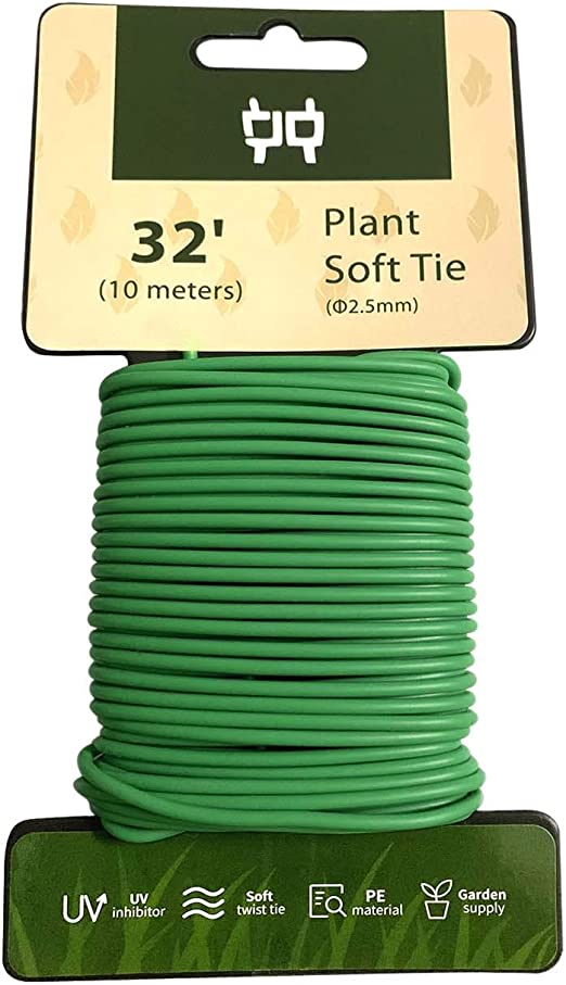 Alambre suave resistente de 2, 5 mm para soporte de plantas de jardín, 10 metros: Amazon.es: Jardín