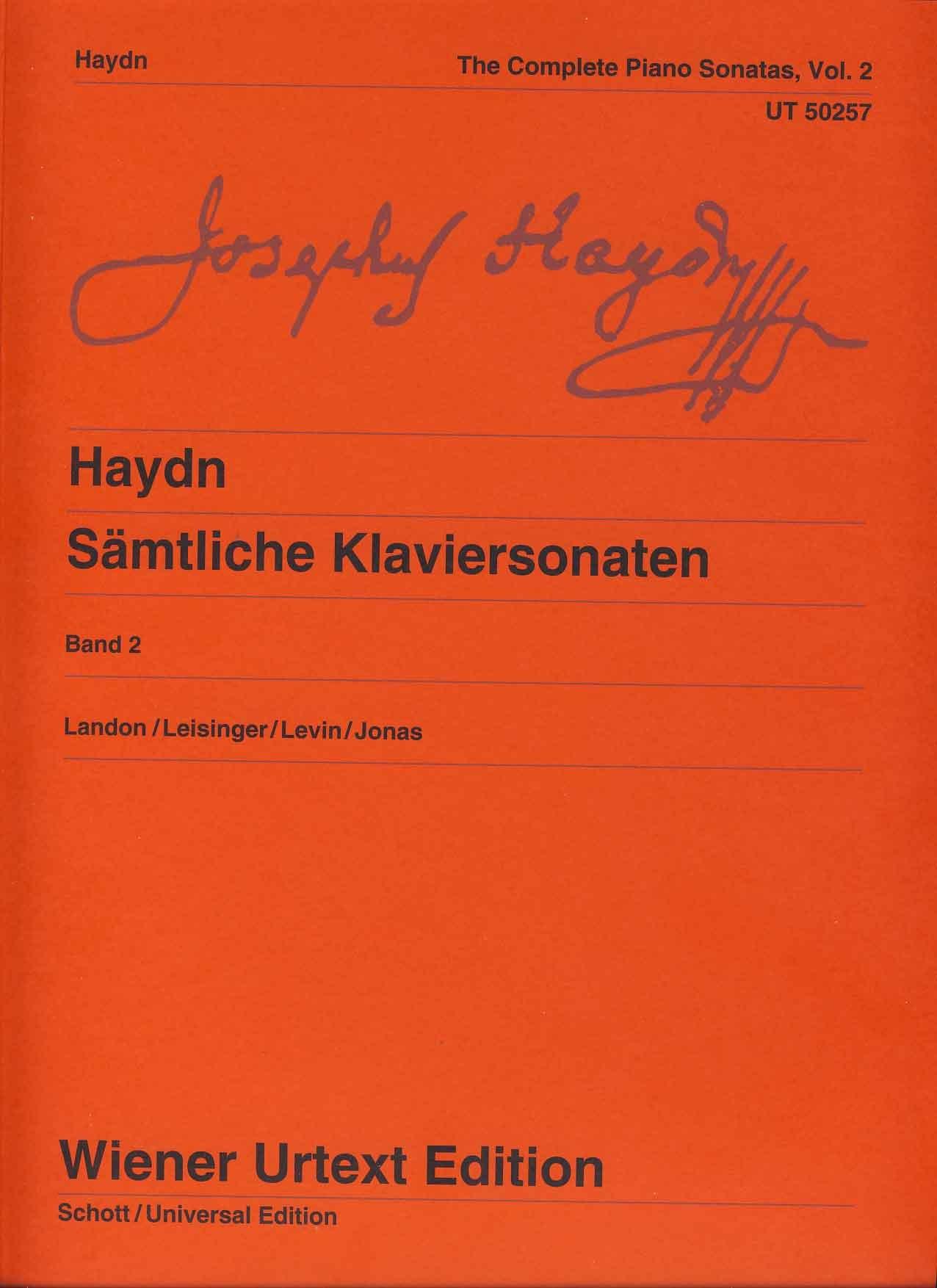 HAYDN COMPLETE PIANO SONATAS 4 Landon Leisinger