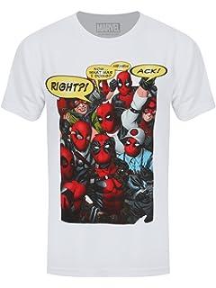 Deadpool Female Shirt Marvel Deadpool Sublimation Mesh Women/'s T-Shirt White
