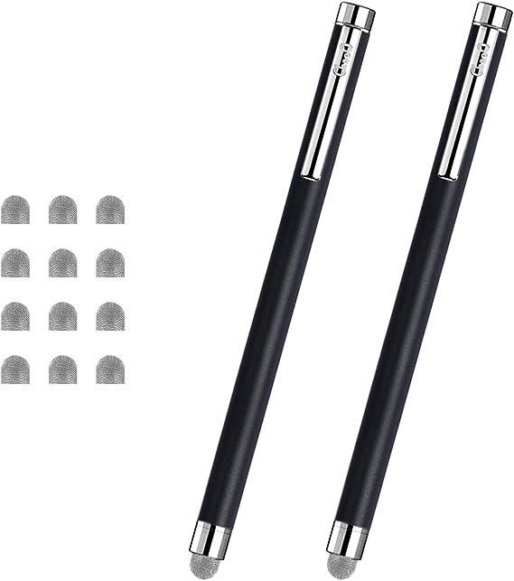 Jet Black EverTouch Capacitive Stylus BoxWave Toshiba TECRA A40-G1420 Stylus Pen Fiber Tip Capacitive Stylus Pen for Toshiba TECRA A40-G1420
