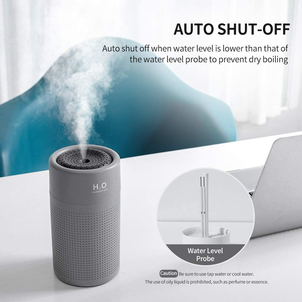 SPC Sedna Humidificateur intelligent Wi-Fi anti-bact/érien avec technologie UV