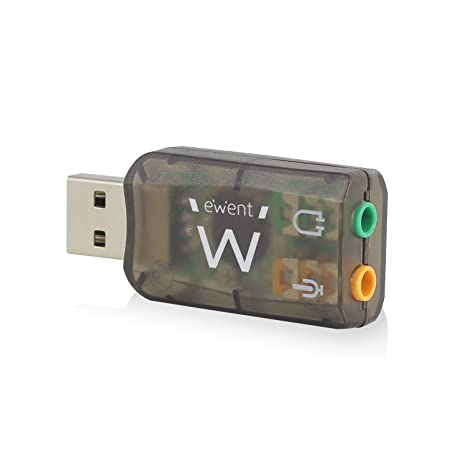 Amazon.com: Ewent 3d virtual USB 5.1 tarjeta de sonido ...
