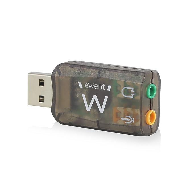 33 opinioni per Ewent EW3751 Scheda Audio Esterna USB 2.0 a 3.5mm, Audio Virtual 5.1 Adattatore