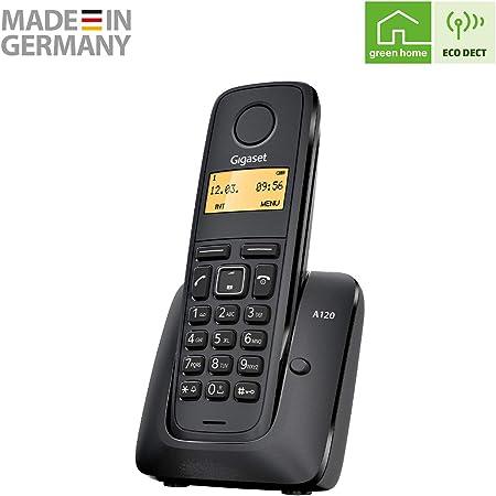 Telefono inalambrico Gigaset A120 Single DECT: Amazon.es: Electrónica