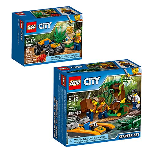 (LEGO City Jungle Explorers Jungle Explorers Building Kit (141)