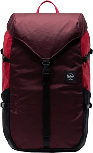 Herschel Supply Co. Barlow Large Plum Red Black One Size