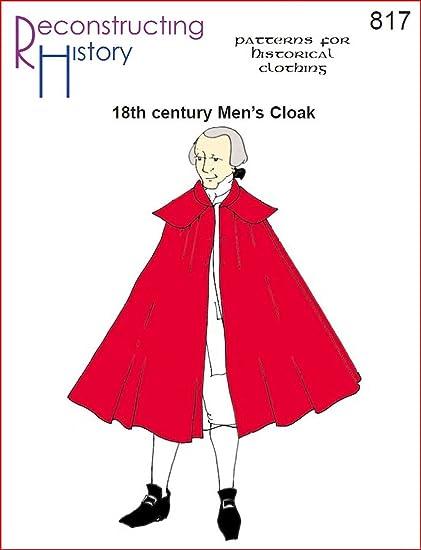 Amazon.com: 18th Century Men\'s Cloak Pattern: Arts, Crafts & Sewing