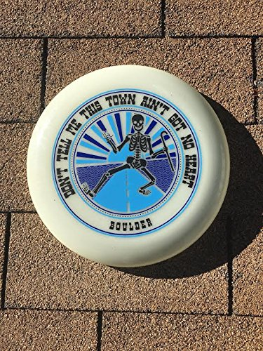 175gm Limited Edition Grateful Dead ''Shakedown BOULDER'' inspired frisbee by Funn & Frolic - USA