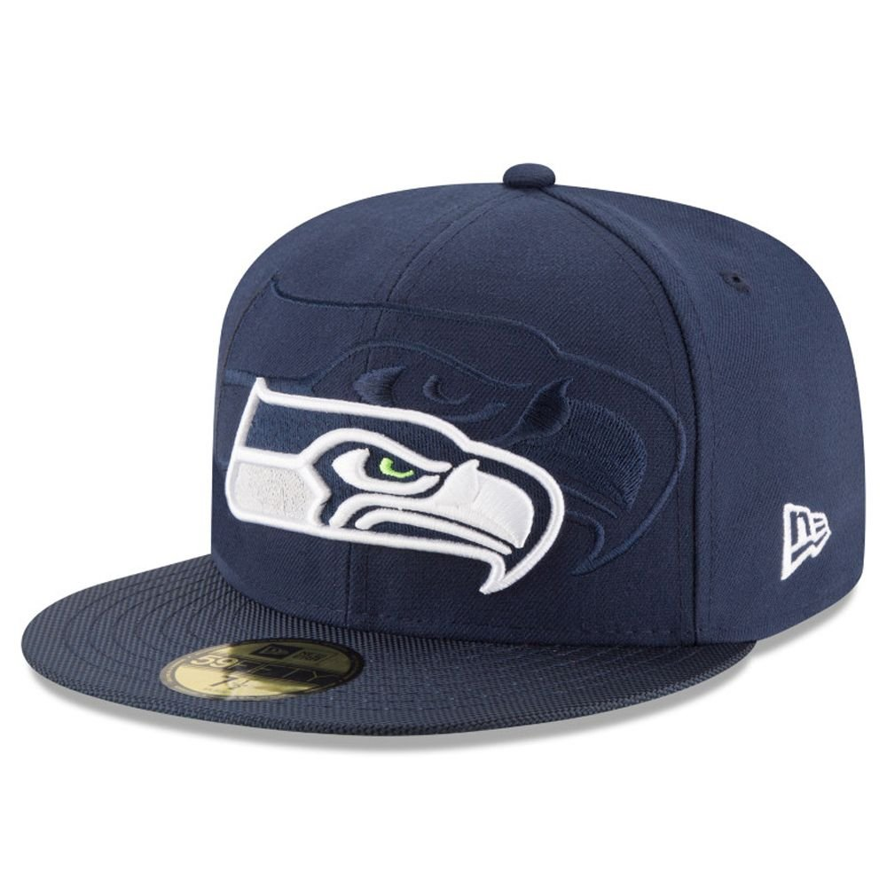 New Era NFL SEATTLE SEAHAWKS Authentic 2016 On Field 59FIFTY Game Cap