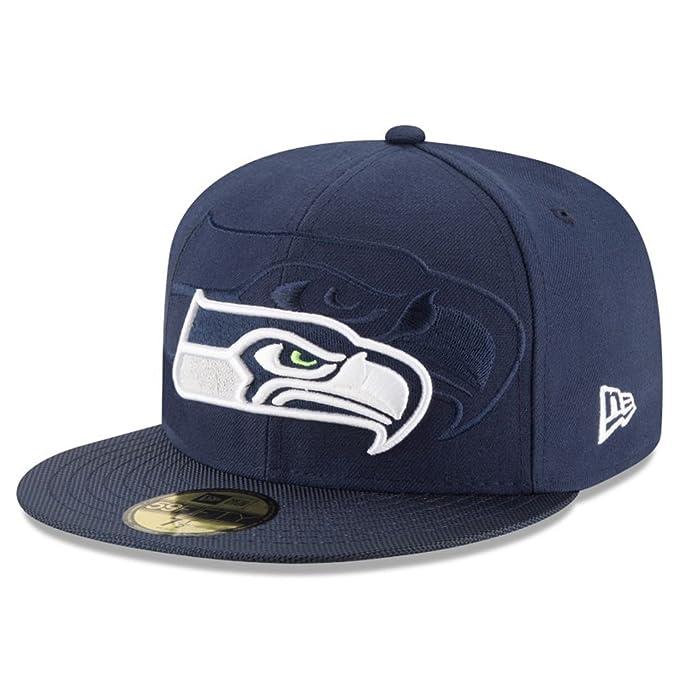 4f627e6ecba New Era Men Caps/Fitted Cap NFL Seattle Seahawks Sideline: Amazon.co.uk:  Sports & Outdoors