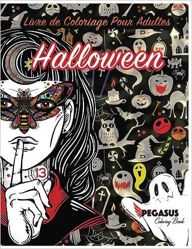 Livre De Coloriage Pour Adultes Halloween Coloriage Anti