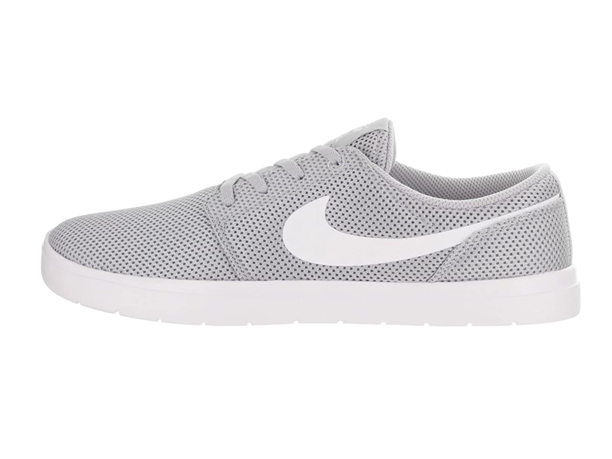 Amazon.com   Nike Mens SB Portmore II Ultralight Wolf Grey White Size 8   Fashion Sneakers