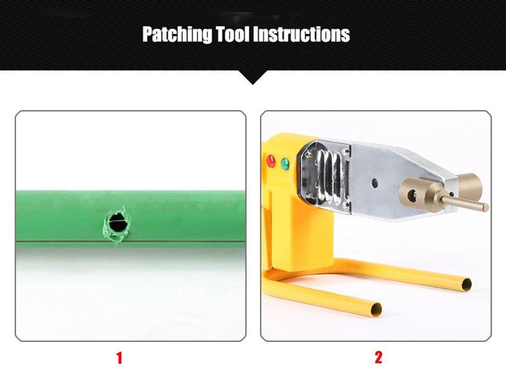 ZLUCK Water Pipe Repair Tools, Leak - Mending, Hole - Mending, Fuser, Welding Die, Glue Stick Repair Tools, PE/PPR / Pb/PVC Small-Scale Welding Pipe Repair Work (7 Mm - 11 Mm),A by ZLUCK (Image #5)