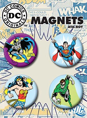 Ata-Boy DC Comics Originals Superheroes Set of 4 1.25