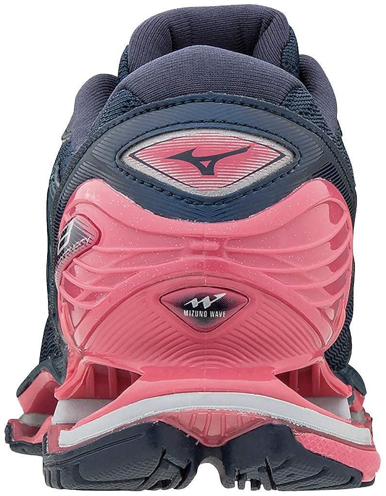 Mizuno Wave Prophecy 8 schuhe schuhe schuhe damen Blau Wing Teal Silber Honeysuckle 2019 Laufsport Schuhe e1a81b