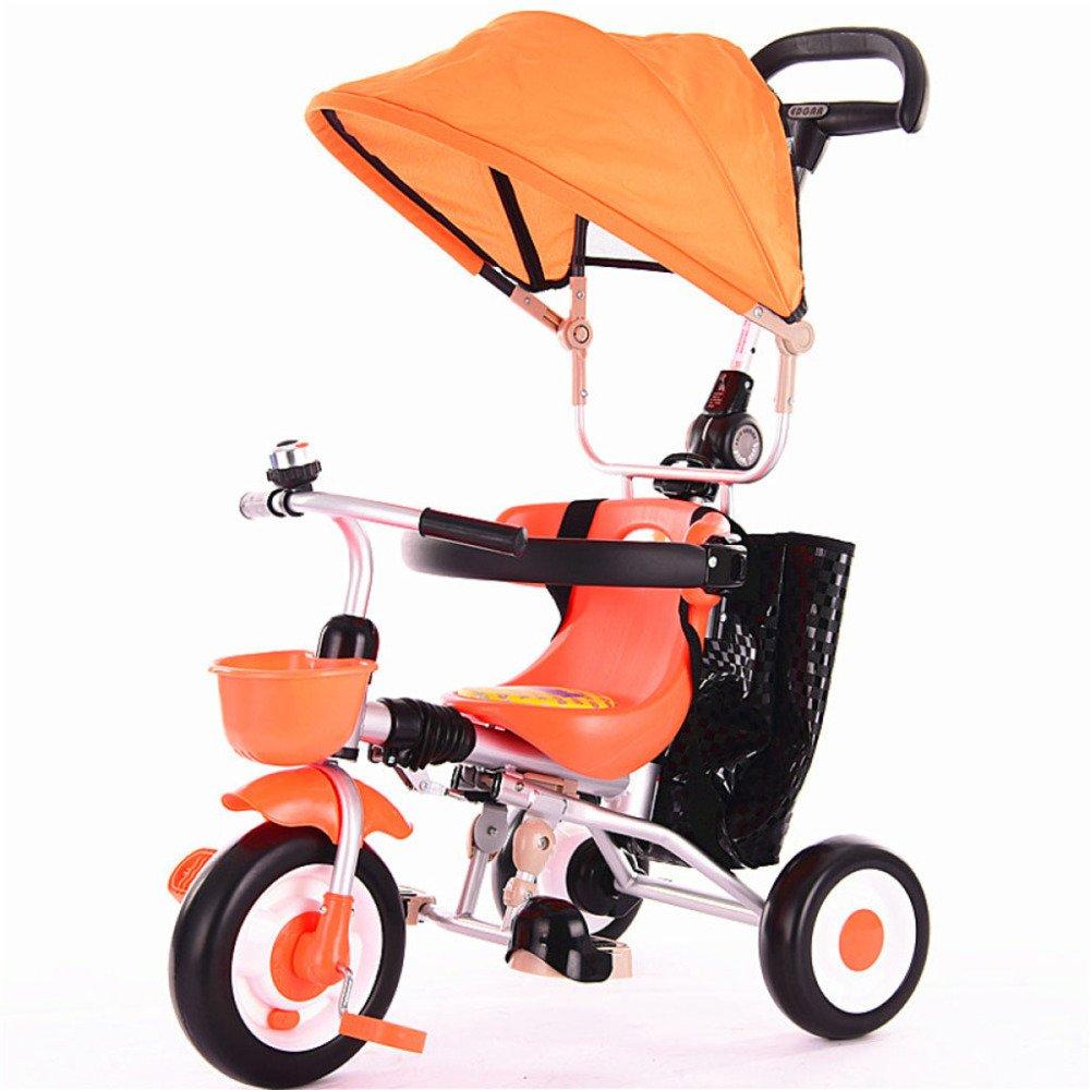 Ven a elegir tu propio estilo deportivo. naranjaQXMEI Triciclo Infantil Trolley Portátil Portátil Portátil Plegable con Toldo Bicicleta Bebé Bici Carrito De Bebé De 1 A 5 Años,verde  edición limitada
