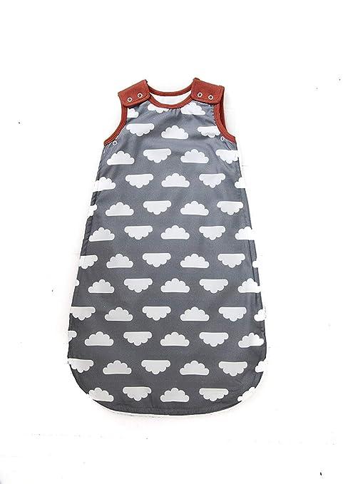 Mama Designs Babasac Multi Tog - Saco de dormir para bebé, en nube gris con