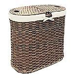 Seville Classics WEB547 Laundry Hamper/w Liner, Mocha