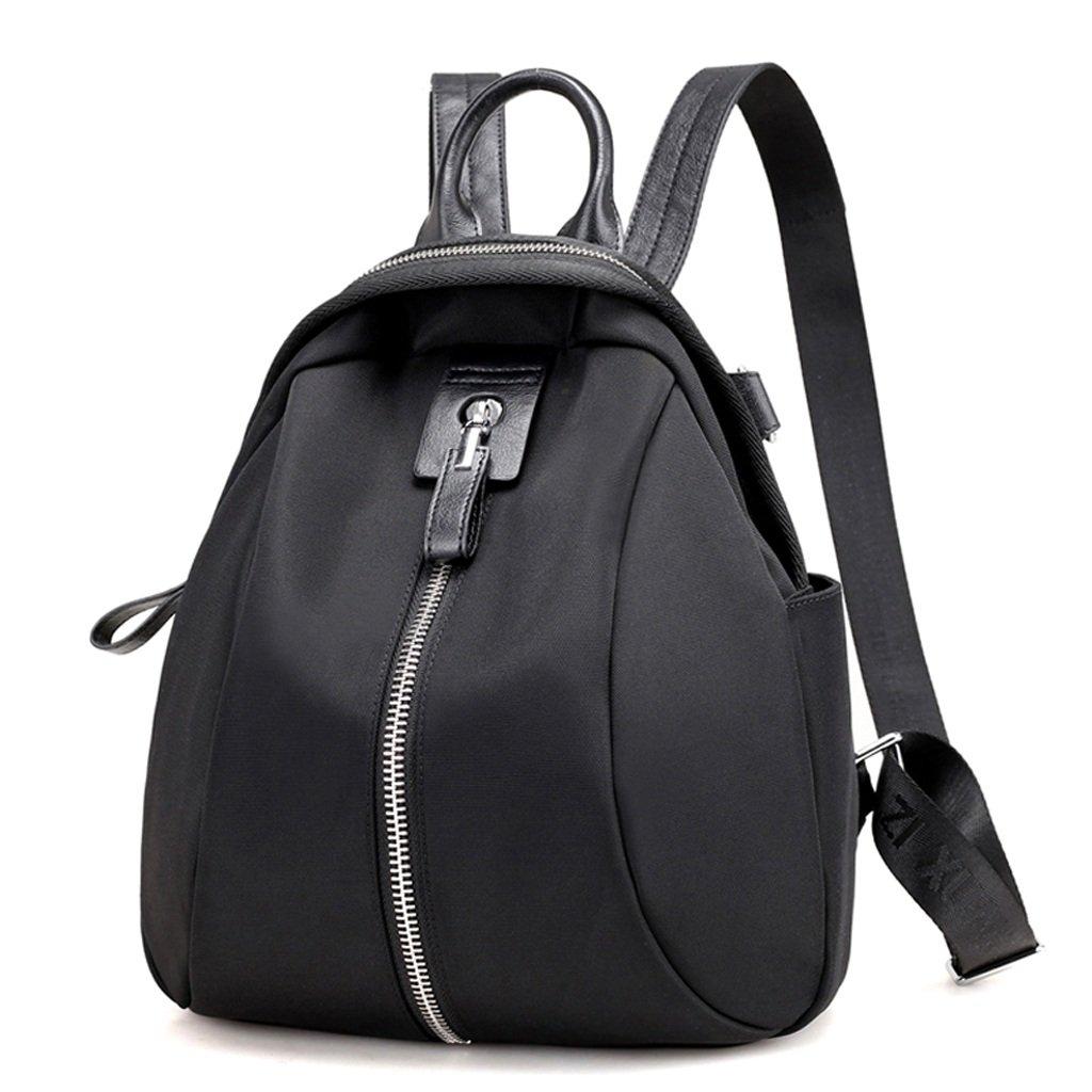 ZCM Rucksäcke Student Version College College College Style Einfach Niedlich Freizeit Oxford Schule gelten für Campus Double Schultern Tasche - (Schwarz) B07DR8GRF8 Messenger-Bags 749567