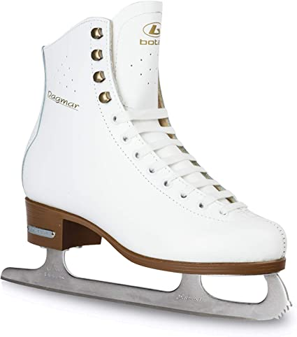 princess wears ice skates kid/'s t-shirt sport hobby ice rink boots blades 1634
