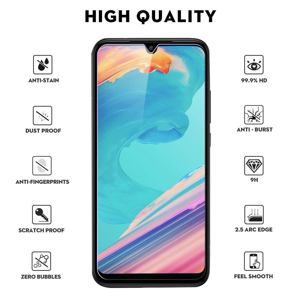 Alta Definicion, Sin Burbujas, 9H Dureza, Anti-Rasgu/ños 3 Unidades SKYE Protector de Pantalla para Xiaomi Mi 9T Cristal Templado para Xiaomi Mi 9T