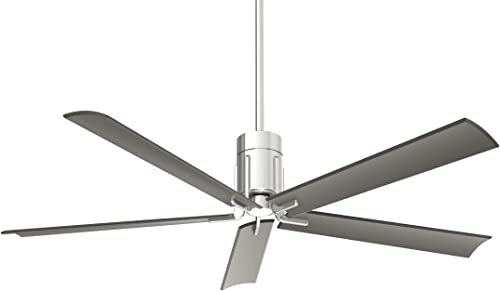 60 Minka Aire Clean Polished Nickel LED Ceiling Fan