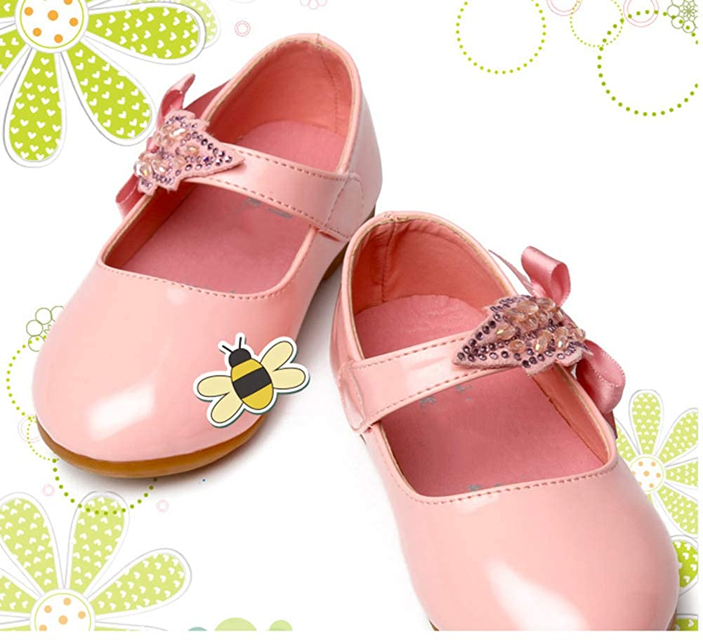 Scothen Flles Mary Jane Mocassins Chaussures de Princesse en Cuir Chaussures b/éb/é Ballerine /à Fleurs Chaussures de bapt/ême antid/érapantes Chaussures de f/ête pour Filles Ballerines
