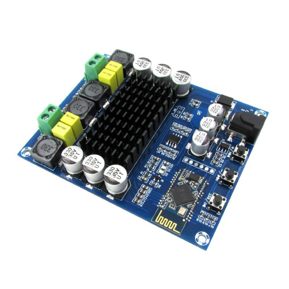 AOSHIKE 120WX2 TPA3116 CSR8635 4.0 Bluetooth Amplifier Digital Audio Board TPA3116D2 Amplificador Dual Channel Audio Amps moudle by AOSHIKE