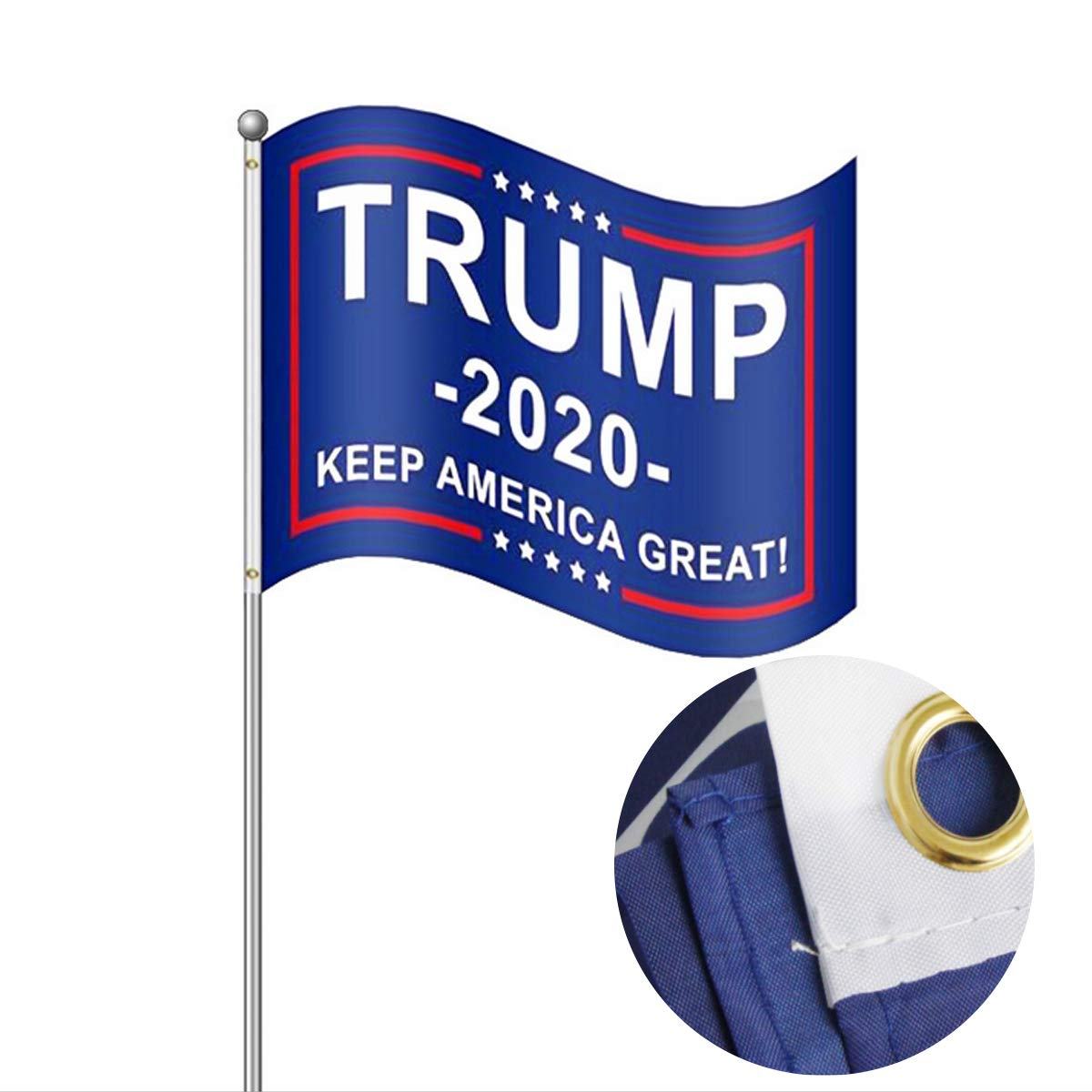 Amazon.com: Lita Donald Trump Flag 2020 Trump Keep America ...