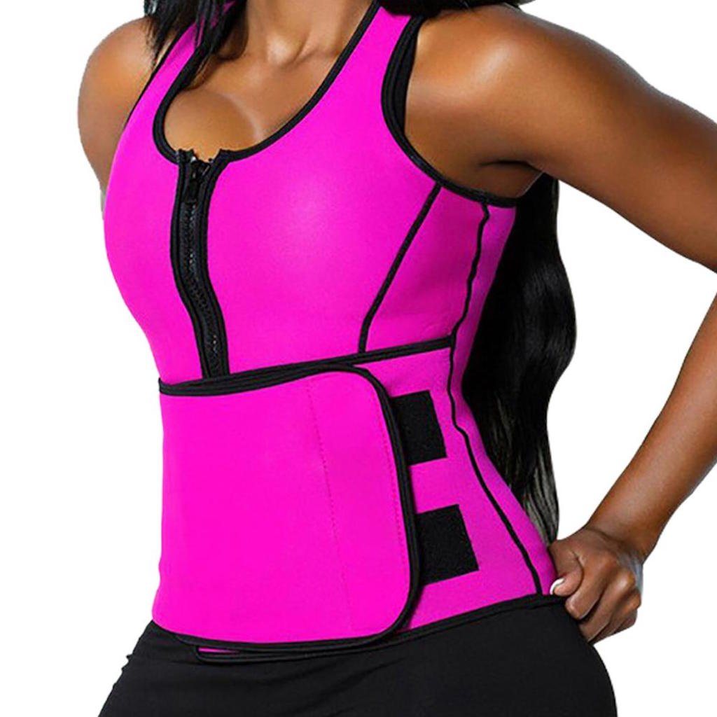 The Perfect Sculpt™ Sweat Vest (Small, Pink) by The Perfect SculptTM