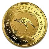 #8: 1999 AU Australia 1 kilo Gold Nugget BU Gold Brilliant Uncirculated