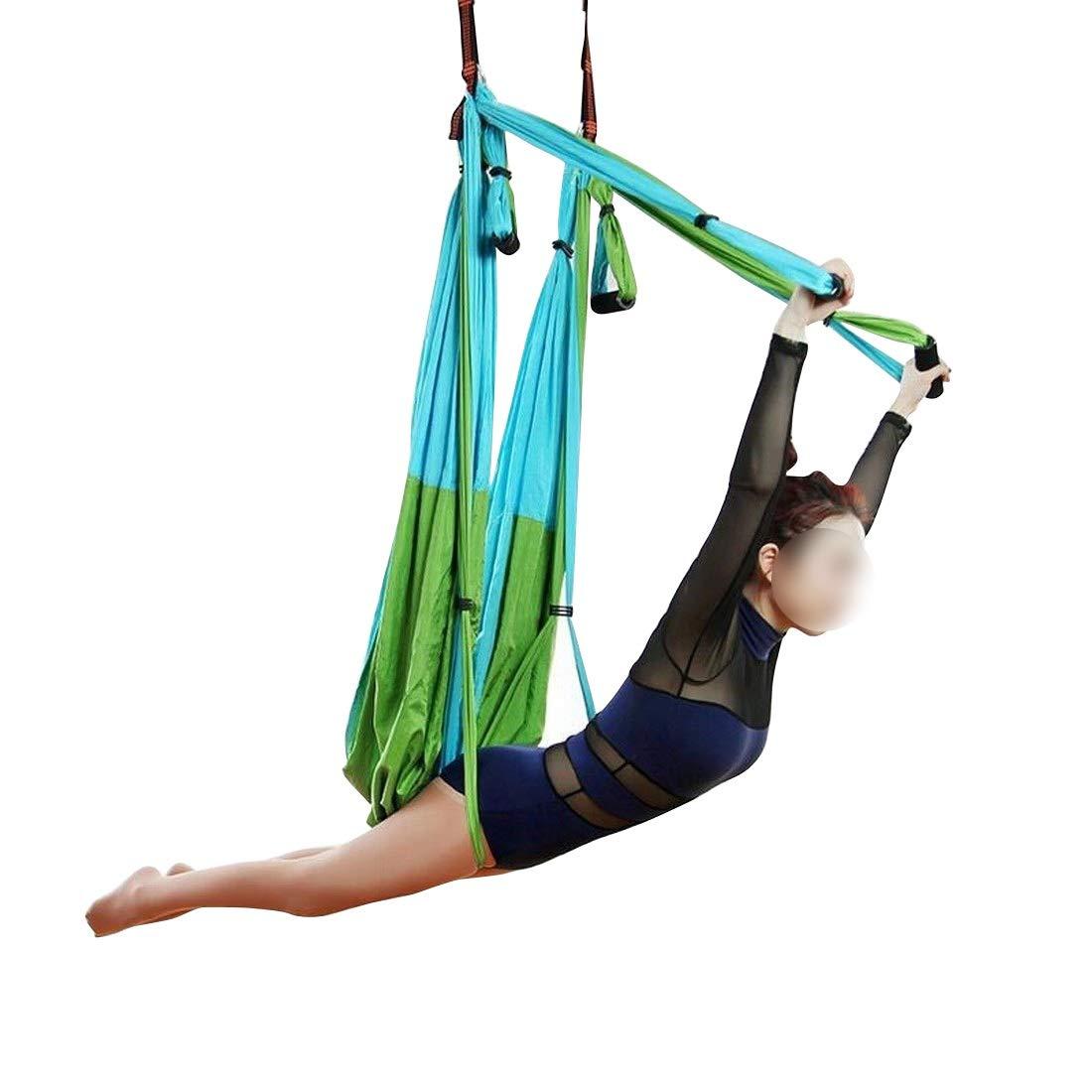 SHIZHESHOP Juego de Columpios de Yoga aéreo - Hamaca de Yoga ...