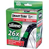 Slime Smart Tube - Camera d'aria autoriparante con valvola Presta, 26 x 1,75 - 2,125'', colore: Nero