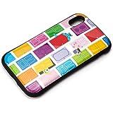 Premium Style iPhone XR ハイブリッドタフケース モンスターズ・インク/ホワイト