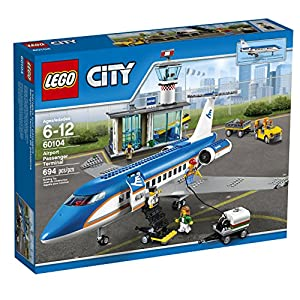 LEGO City Airport 60104 Airport Passenger Terminal Building Kit (694 Piece) - 616xEomDBuL - LEGO City Airport Passenger Terminal 60104 Creative Play Building Toy