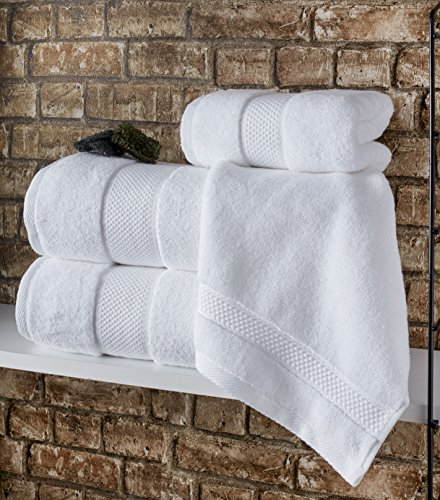 Bagno Milano Luxury Hotel & Spa Collection Turkish Cotton Large Hand Towel Set of 4, (Green) Super Soft and Ultra Absorbent Turkish Towel by Bagno Milano (Image #7)