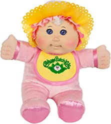 Cabbage Patch Kids 11 Inch Pink Retro Baby Doll (Caucasian Girl, Blonde Hair, Blue Eyes)