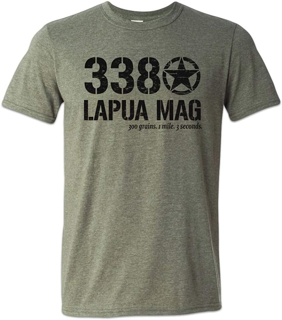 Zepp Tees 338 Lapua T-Shirt 2A Support Long Range Shooting