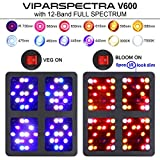 VIPARSPECTRA UL Certified 600W LED Grow Light,with