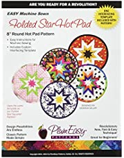 PlumEasy Patterns PEP101 Rounded Folded Star Hot Pad Template