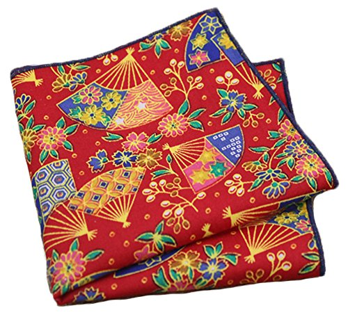 Flairs New York Floral Collection Pocket Square (Japanese Traditional)