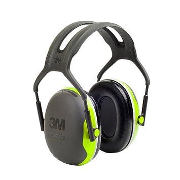 3 M Peltor X4 diadema orejeras (Slim) 33db – X4 A, talla única