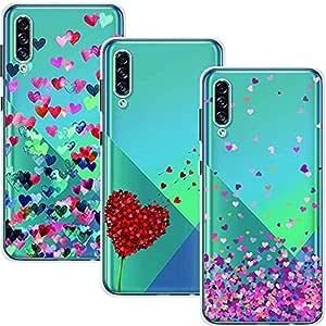 Young Ming Funda Para Samsung Galaxy A50/A50s/A30s, (3 Pack) Transparente Ultrafina Carcasa Delgado antigolpes Resistente, Amor: Amazon.es: Electrónica