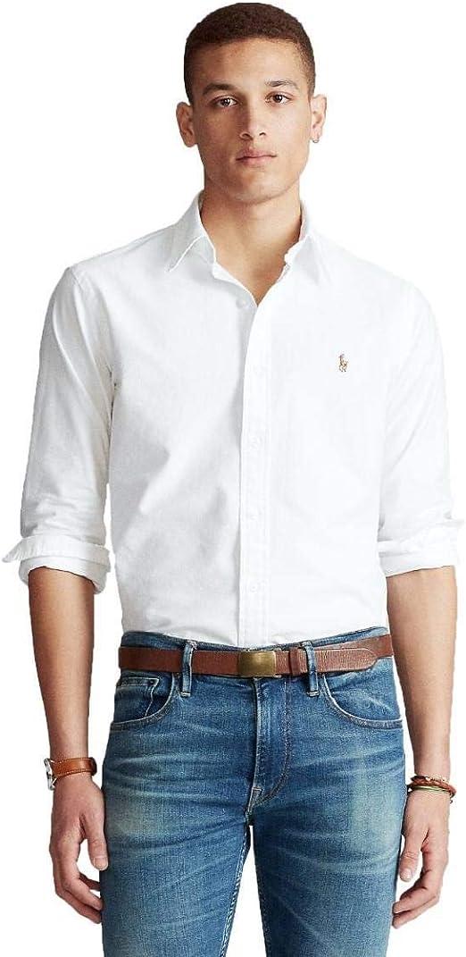 Ralph Lauren Camisa Oxford Custom Fit: Amazon.es: Ropa