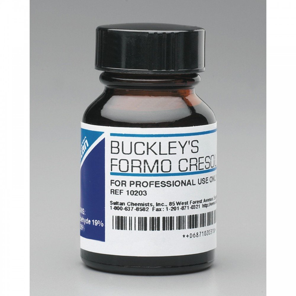Sultan 10203 Buckley's Formo Cresol, 1 oz. Volume