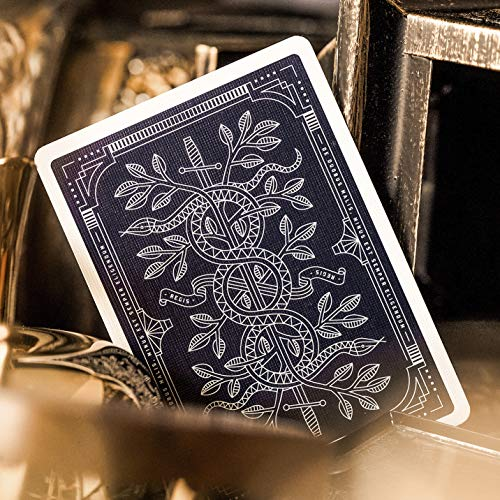 Monarch Playing Cards by theory11 , Blue, 3.5 x 2.5-Inch