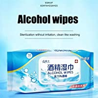 Healthy new life 50pcs/Pack Medical Disinfection Portable Alcohol Swabs Pads Wipes Antiseptic Cleanser Cleaning Sterilization Wholesale Sanitary pad wipes