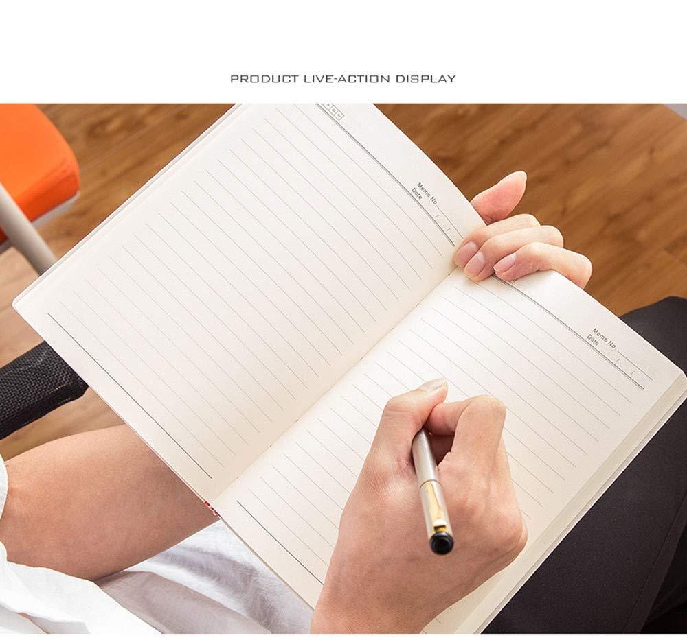 NTCY Notizbuch A5 A5 A5 Dickes Geschäft Notizbuch Schreibwaren Einfach Notizblock Arbeitssitzung Rekordbuch 256 Seiten Büro Lernen Tagebuch Schreibwaren Liefert Geschenk,B B07MNV3RZM | Moderne und stilvolle Mode  | Up-to-date Styling  | Treten Sie e 392eea